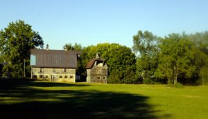 Dairy Barns Before Restoration