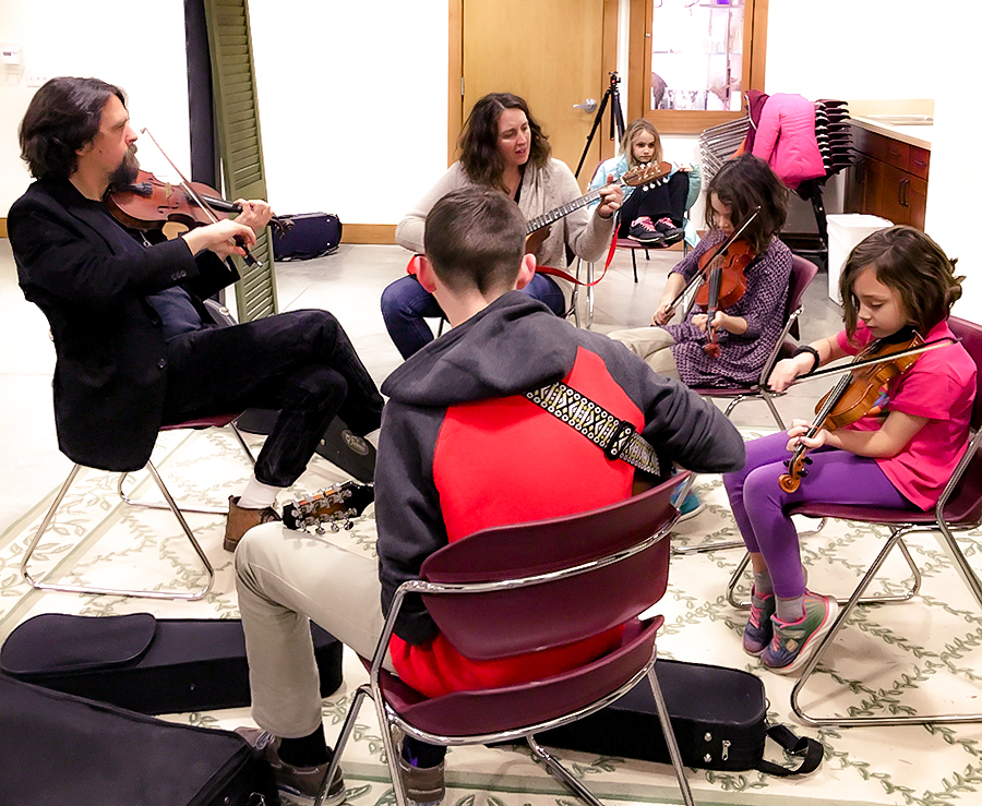 Kids Group Fiddle Class