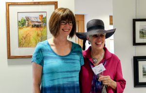 Happy Attendees at Saving Place, Saving Grace Opening Reception